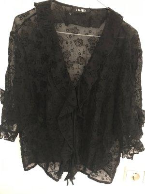 Tuzzi Lace Blouse black polyester
