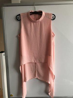 Blusa larga rosa