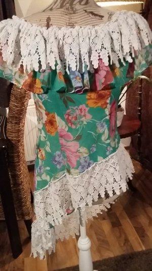 Camicetta a blusa multicolore