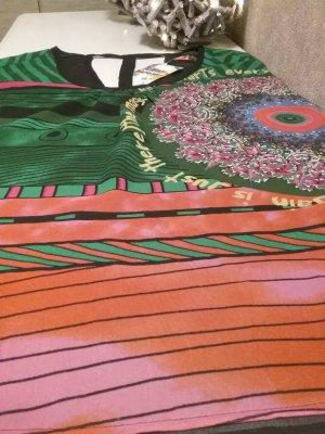 Wunderschöne  Bluse mit buntem Print- Design von DESIGUAL...NEU mit Etikett(NP 75 Euro) !!!!