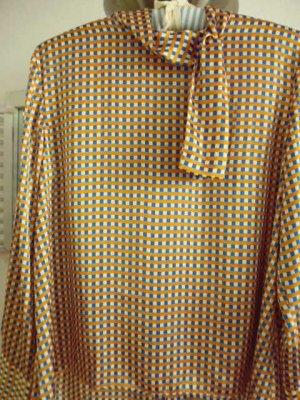 Zara Woman Blouse met opstaande kraag veelkleurig Polyester