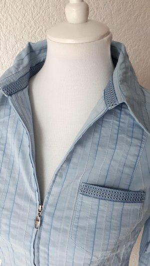 wunderschöne Bluse/Shirt,blau, 36/S