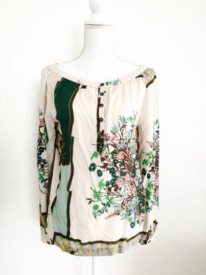 Wunderschöne Bluse von 0039 Itali in multicolor, Gr. 34 XS