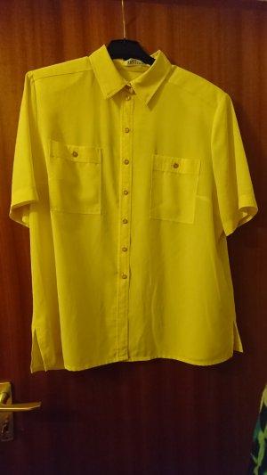 Wunderschöne Bluse von Alexander Gelb Gelb Gr.46