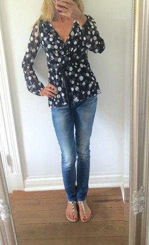 wunderschöne Bluse von ESPRIT mit Punkten * Gr. M 38