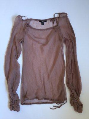 Wunderschöne Bluse von Mango, XS, flieder-beere farbend