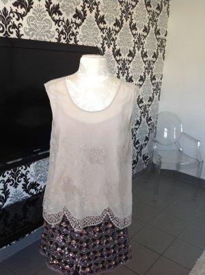 Wunderschöne Bluse von Twin-Set, in Farbe taupe