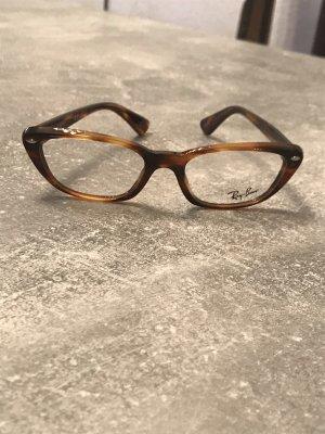 Ray Ban Glasses dark brown-cognac-coloured