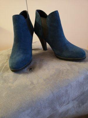 wunderschöne Caprice Stiefeletten in Blau