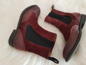 Chelsea laarzen bordeaux