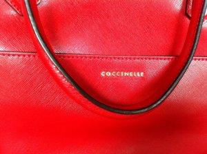 Wunderschöne Coccinelle Handtasche rot, NEU