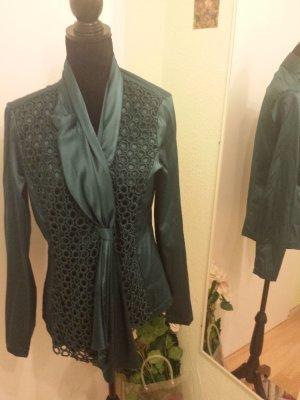 Wunderschöne Designer Glanz Bluse *maracamicie* Größe 42