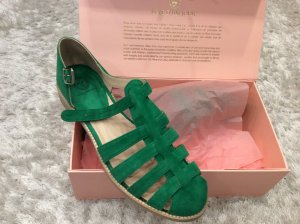 Roman Sandals green-forest green suede
