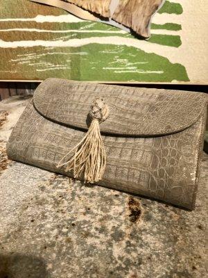 Wunderschöne elegante Clutch  Traumteil - Unikat by PIA  Feinstes Leder top verarbeitet
