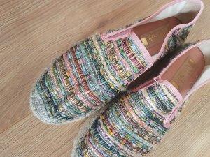 Vidorreta Espadrille Sandals rose-gold-coloured-dusky pink mixture fibre