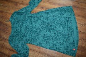 Wunderschöne Esprit Tunika/Minikleid  Smaragdgrün Gr. 42/L