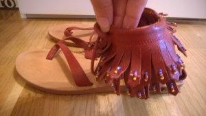 Wunderschöne Flip-Flops im Indianer Stil