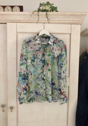 Wunderschöne florale Bluse von Zara, neu