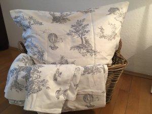 Wunderschöne französische Bettwäsche im Zweier-Set