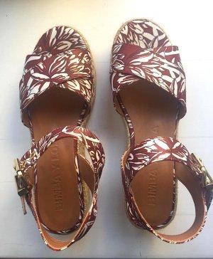 Wunderschöne gemustert Sandalen mit Plateau! Ideal für den Sommer!