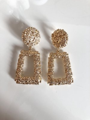 Wunderschöne Gold Azteken Ohrringe