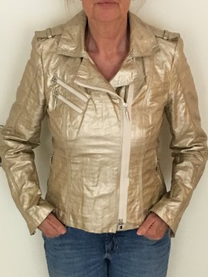 Airfield Short Jacket gold-colored