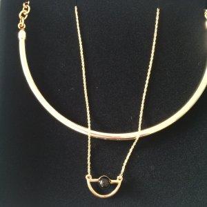 Wunderschöne goldfarbene Ketten von Marc Cain-einzeln oder doppelt zu tragen