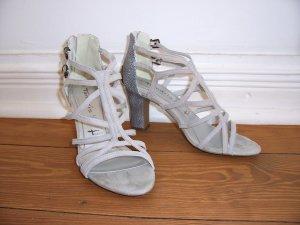 wunderschöne graue Sandalen von TAMARIS * Leder * Gr. 38 * NEU!
