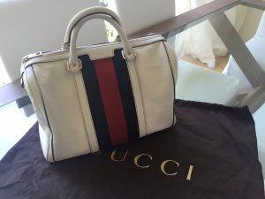 Wunderschöne Gucci Speedy weiß mit Schultergurt, Crossbody tragbar!!