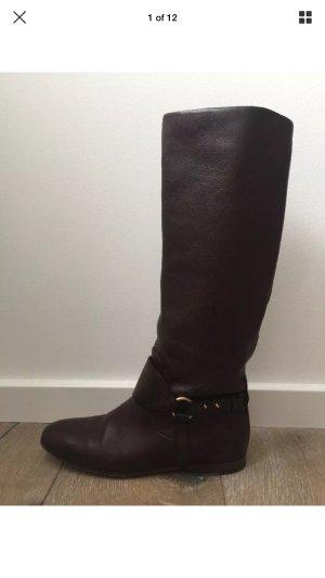 Wunderschöne Gucci Stiefel Horsebit, Gr. 36,5 C