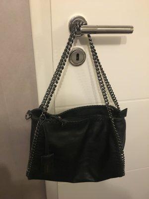 Wunderschöne Hallhuber Handtasche schwarz