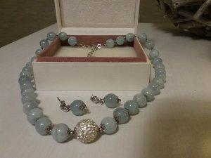 Silver Chain azure-silver-colored real silver