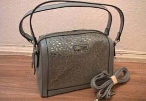 Wunderschöne Handtasche von Bulaggi grau - silber