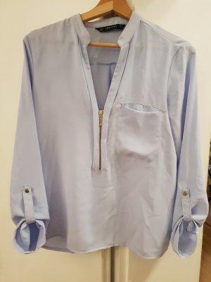 Zara Camicetta a blusa azzurro