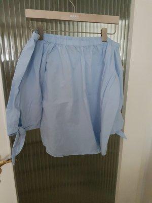 Wunderschöne hellblaue Bluse ♡ schulterfrei ♡