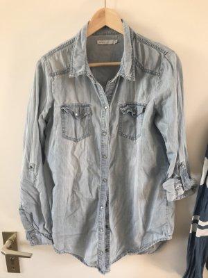 Wunderschöne helle Jeansbluse von ONLY true collection 38