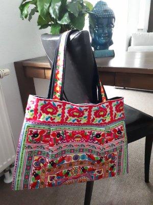 Shoulder Bag multicolored mixture fibre