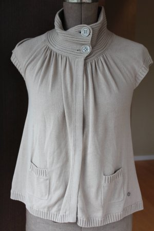 Street One Short Sleeve Sweater camel cotton