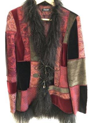 jean paul freiheit 11 Fur Jacket multicolored