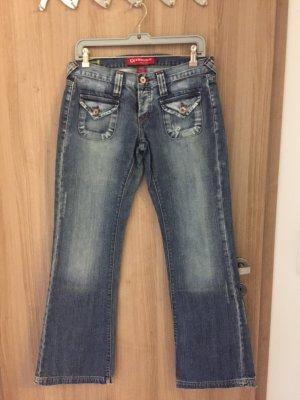 Wunderschöne Jeans der marke Kenvelo Größe 29/32 tolle Details,