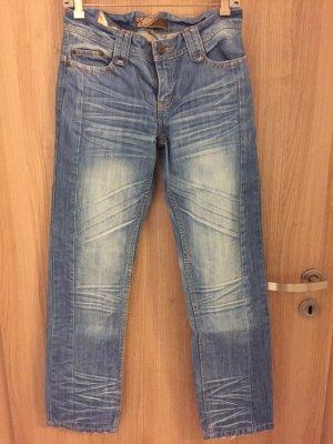 Wunderschöne Jeans der Marke Kenvelo mit Orangen Details Größe 29/32