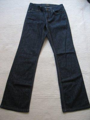 wunderschoene jeans s.oliver neu gr. xs 34 dunkelblau buero