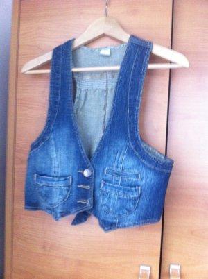 wunderschöne jeans Weste!!! GR.40