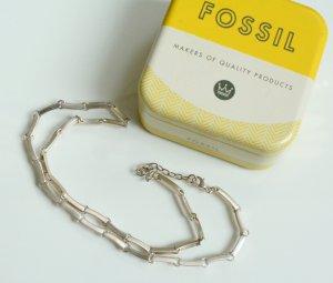 wunderschöne Kette von Fossil 925 Silber