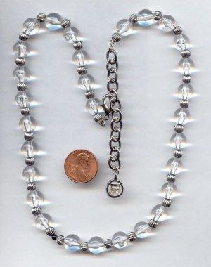 Wunderschöne Kette von Givenchy Collier mit runden Kristallen