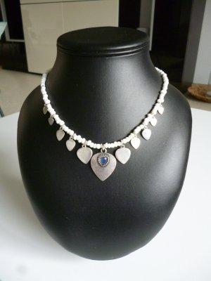 Silver Chain white-silver-colored metal