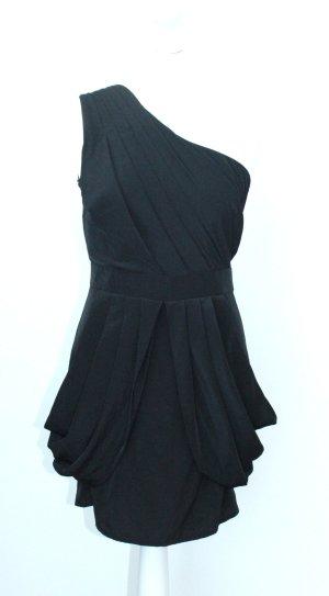 Gestuz Vestido de un hombro negro