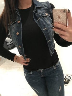 Wunderschöne kurze Jeansweste