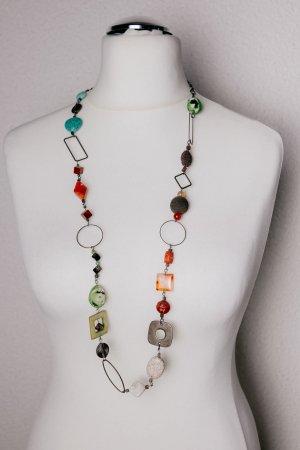 Collana multicolore Metallo