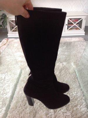 Wunderschöne, lange Stiefel aus Wildleder, 5,5 Größe